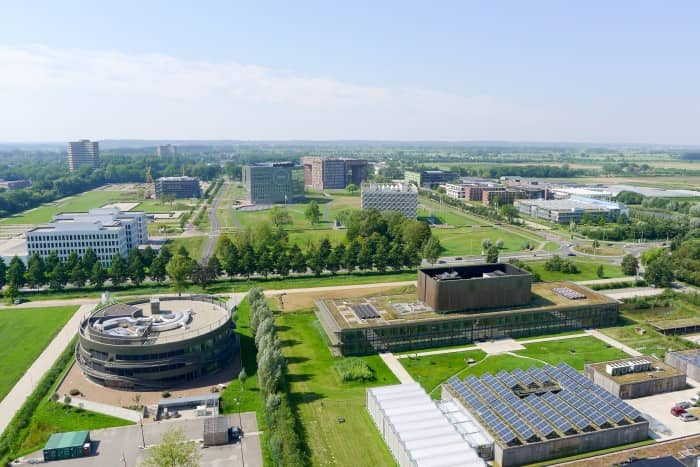 WUR-blog-JorisSchaap_WageningenCampus_2015_aerial