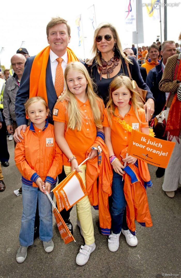 Kings Day Royal Family