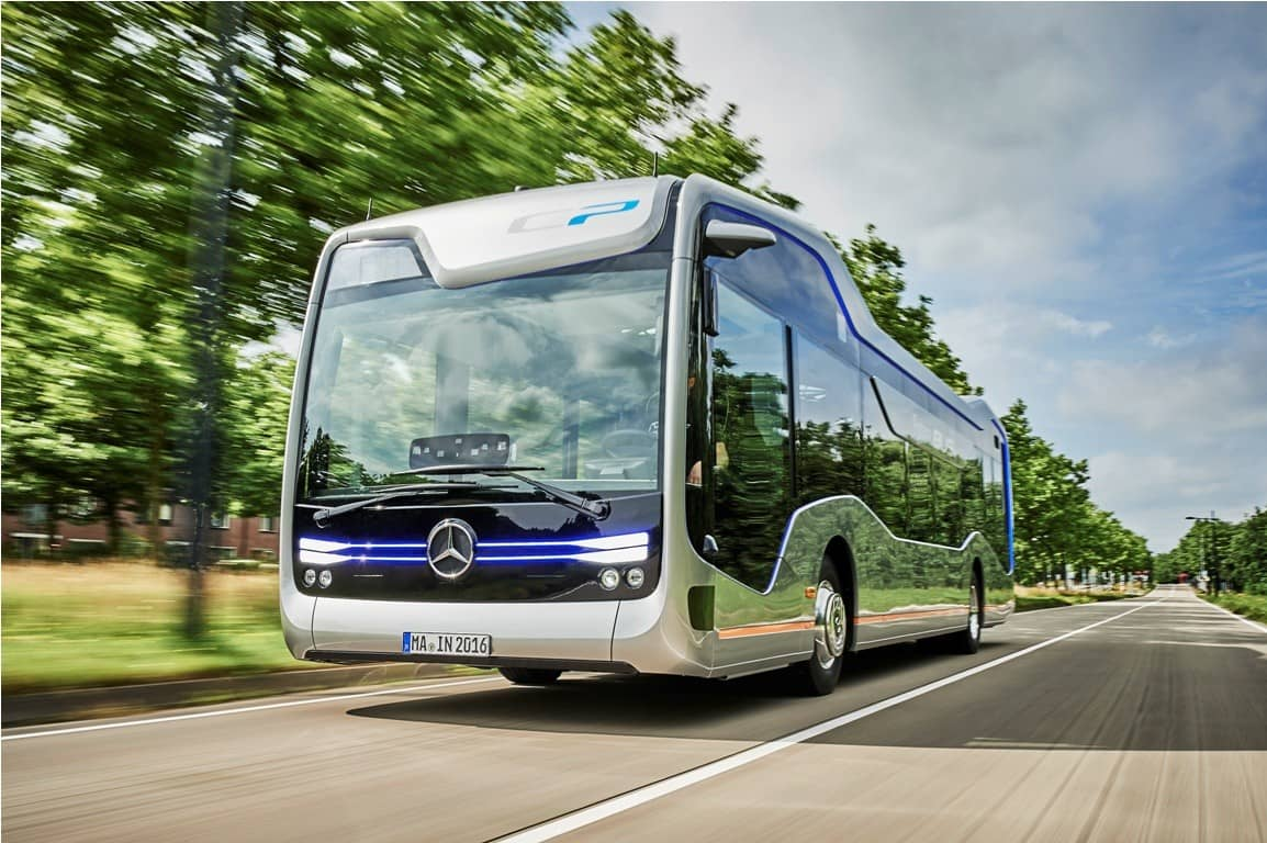 Successful Test With First Self-driving Bus on Public Road ...