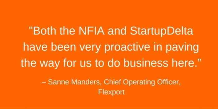 flexport_quote_invest_in_the_Netherlands