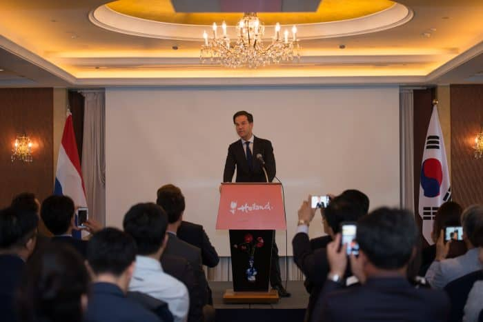Dutch Prime Minister Rutte highlighted the deep connections between the Netherlands and South Korea.