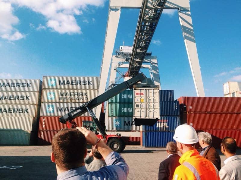 Holland's Top Ranked Logistics Sector ECT Terminal PoR