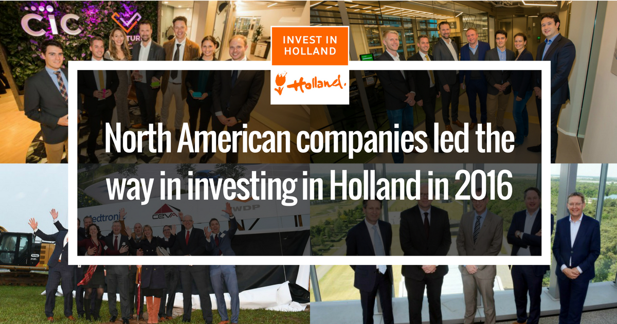 The Netherlands Reports Record Number of Foreign Companies Invest in Holland in 2016