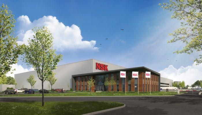 NSK invests €17.5 million in new European Distribution Centre in Tilburg.