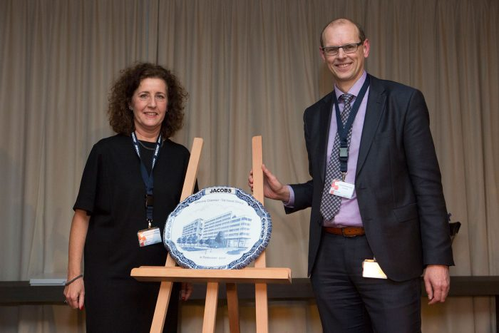 Vice Mayor of The Hague opens new international headquarters for Jacobs Engineering.