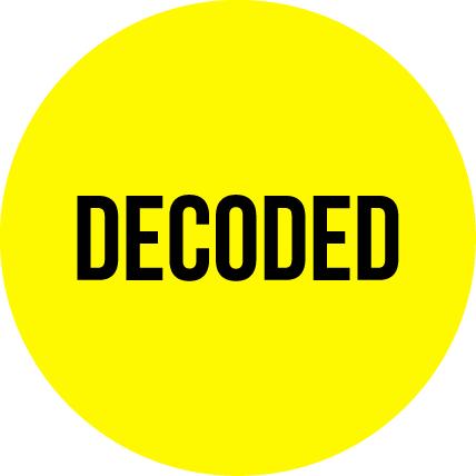Decoded logo