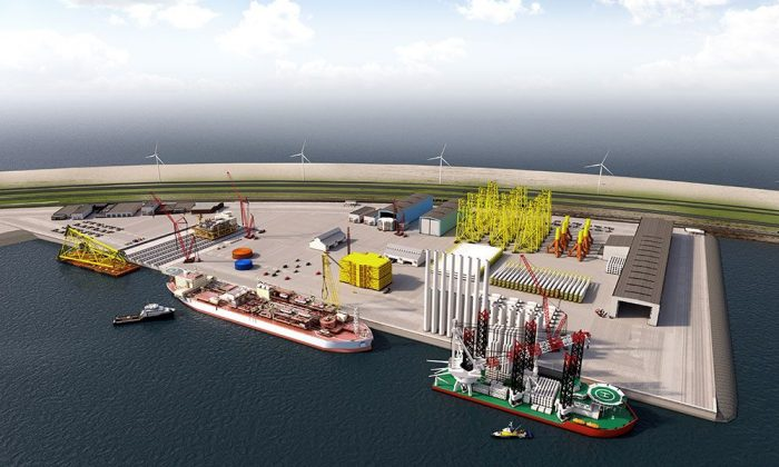 The Port of Rotterdam has revealed plans to develop Europe's first Offshore Center for wind energy at sea and the oil & gas industry.