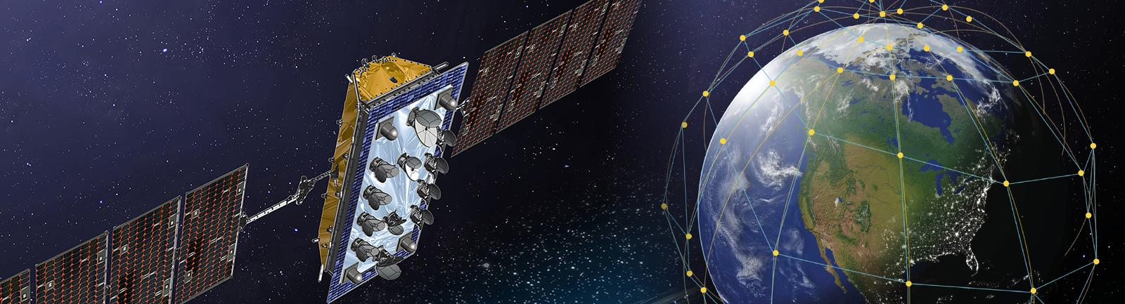 US satellite data company LeoSat establishes its first European office in the Netherlands.