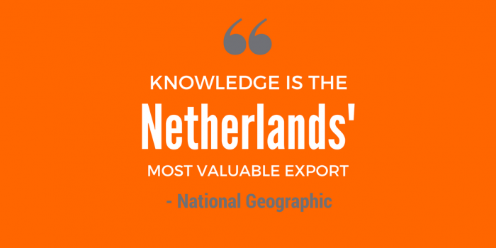 "The Netherlands is a model of smart, sustainable agriculture, reports the National Geographic in its September issue, a global ""agricultural powerhouse""."