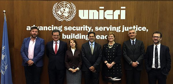 Host Country Agreement for the establishment of the first United Nations Center for Artificial Intelligence and Robotics, in The Hague, the Netherlands.