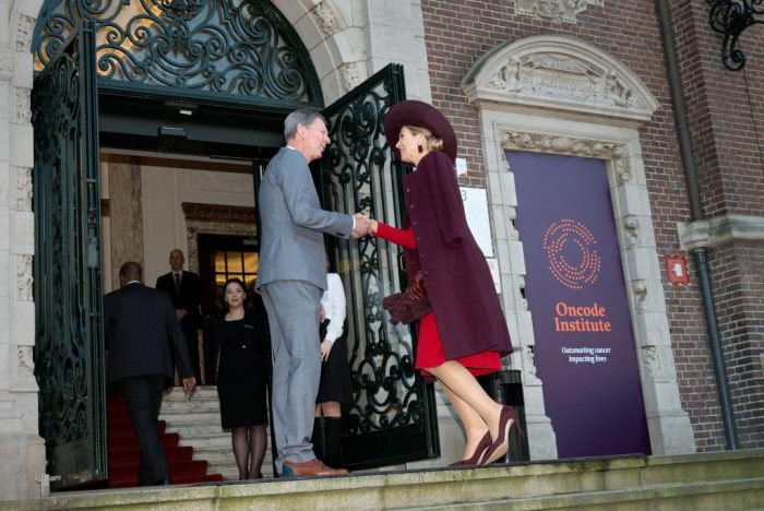 H.M. Queen Máxima Officially Launches Oncode Institute in Holland
