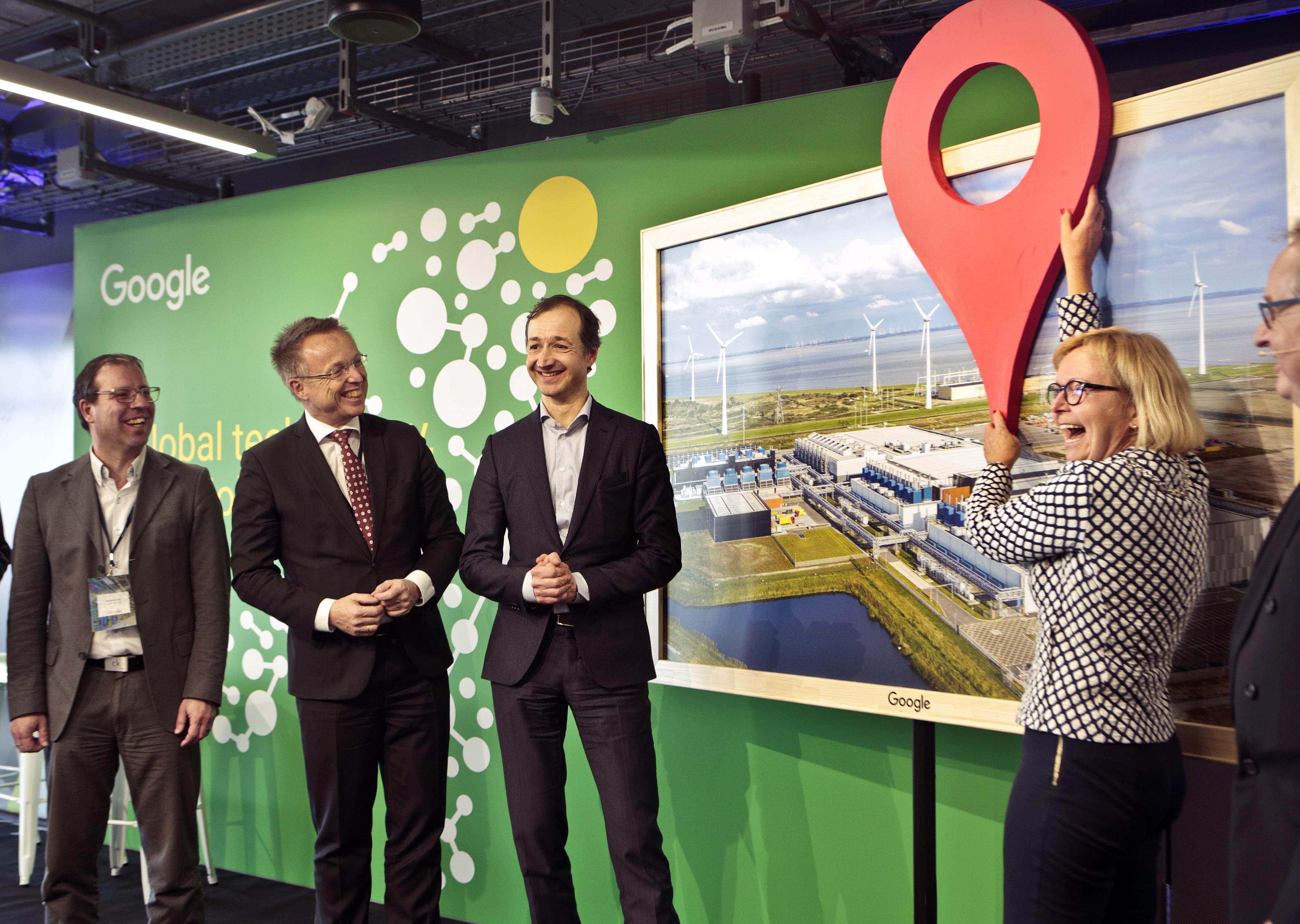 Google data center in Eemshaven
