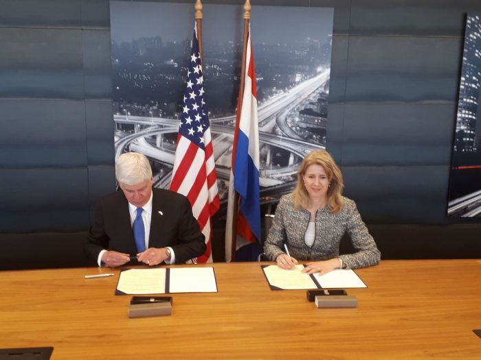 State of Michigan to partner with the Netherlands