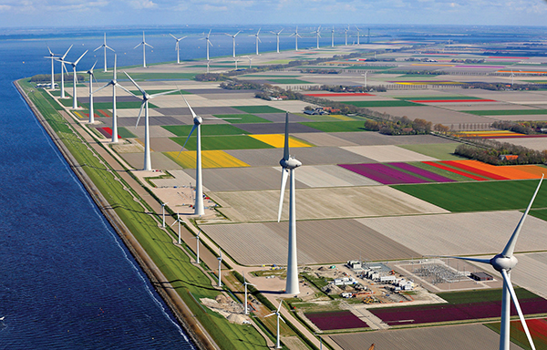 The Netherlands is a leader in renewable energy