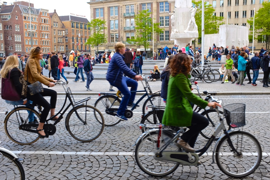 Cycling  in the Netherlands is a sustainable form of transport