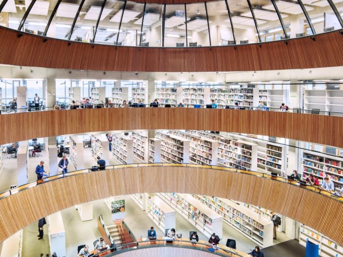 Library at Wageningen University