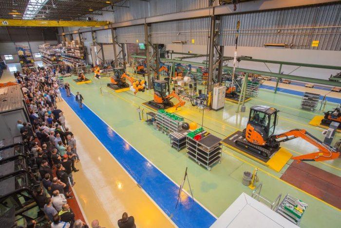 HItachi HCME opening Oosterhout Netherlands