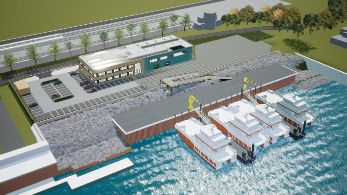 Ørsted's choice for the Vlissingen-Buitenhaven confirms Vlissingen's leading position in the construction and maintenance of offshore wind farms.