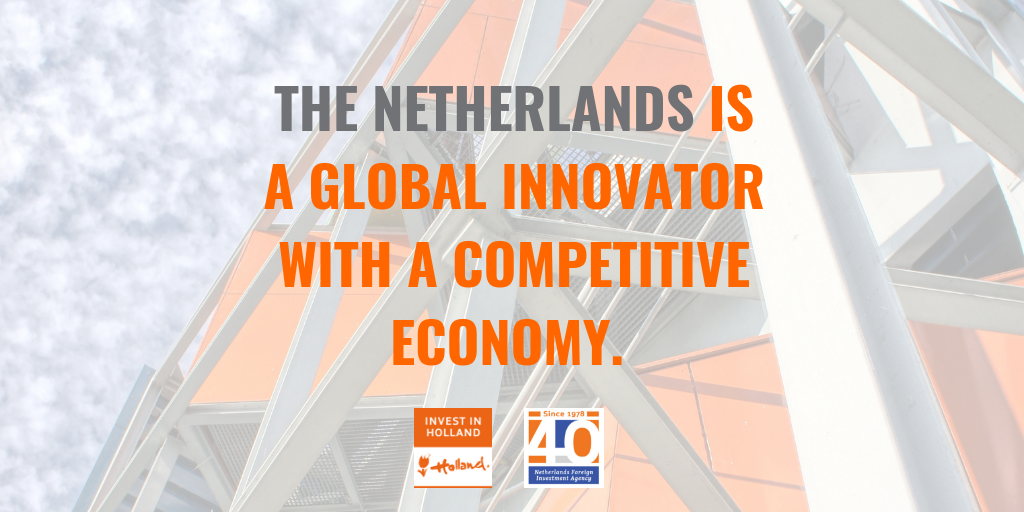 The Netherlands is a global innovator with a competitive economy