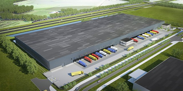 Timberland new distribution centre in Holland