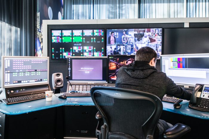 NEP Netherlands editing room
