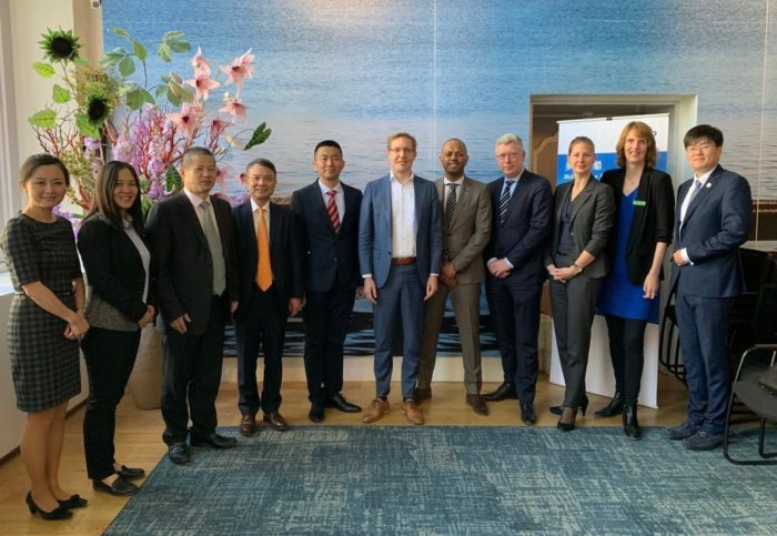 Cosco Shipping is investing in Rotterdam