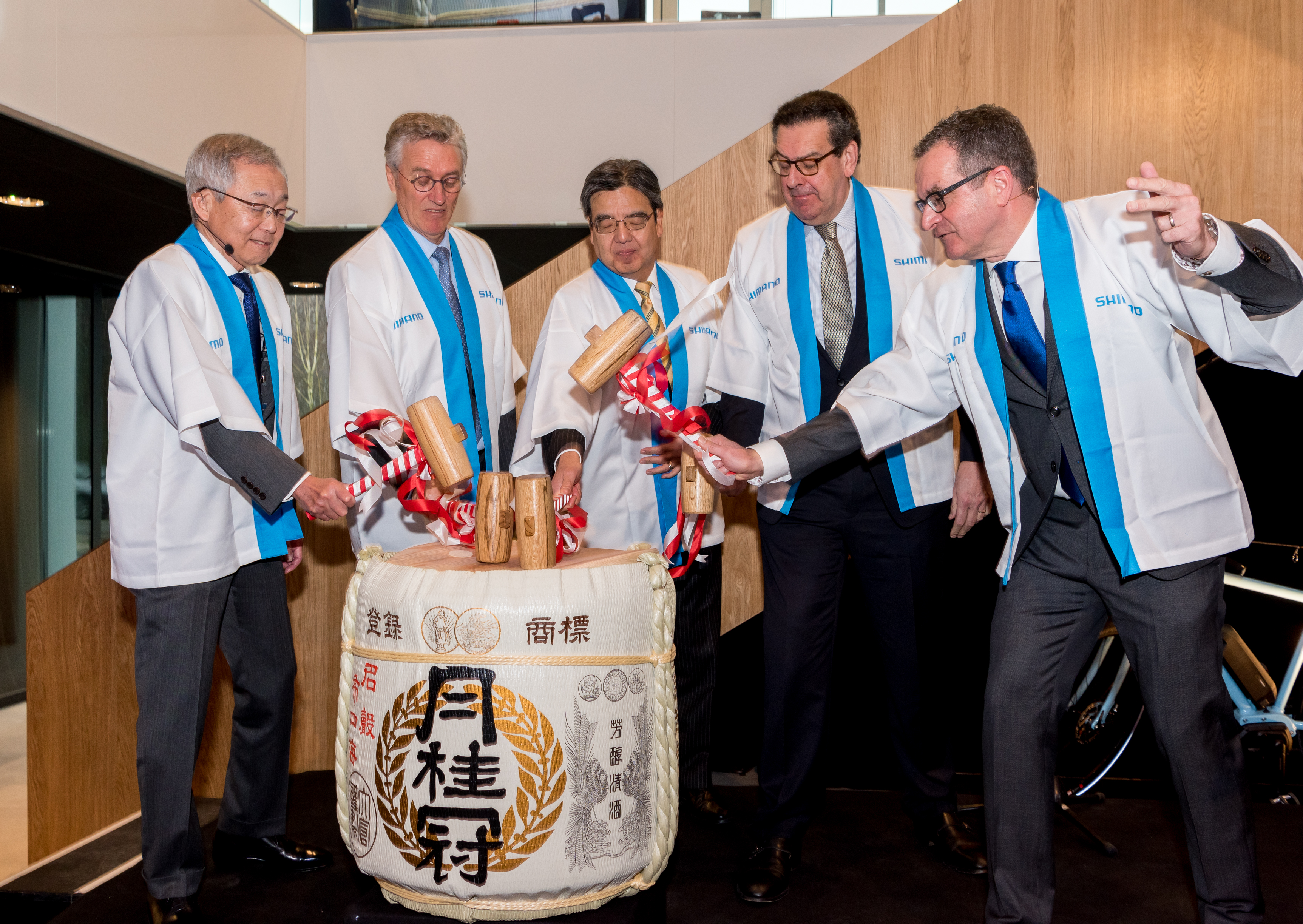 European headquarters opening in Eindhoven for Japanese company Shimano
