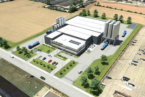 Mitsui Production Facility Geleen