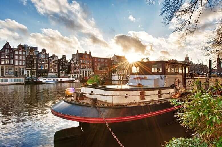 Design Bridge in Amsterdam