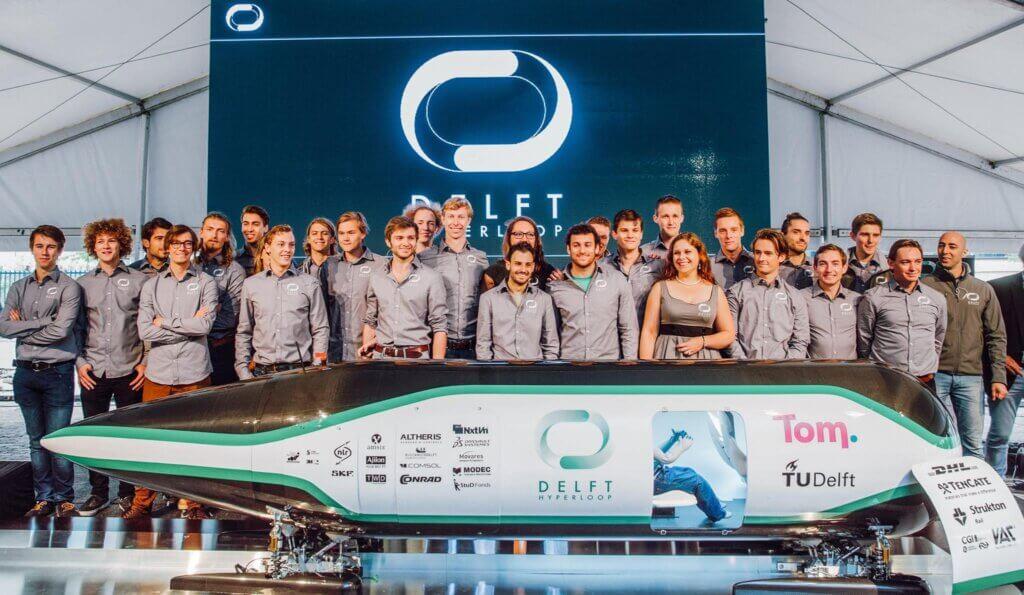 Delft Hyperloop - A testament to Dutch smart mobility