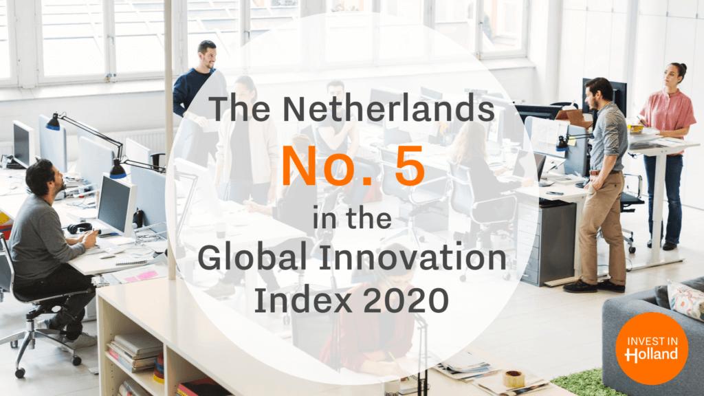 Global Innovation Index 2020 the Netherlands
